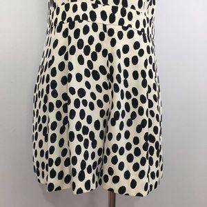 bedc0fcaa9b LOFT Pants - Ann Taylor LOFT Dotted Cream Black Petite Romper